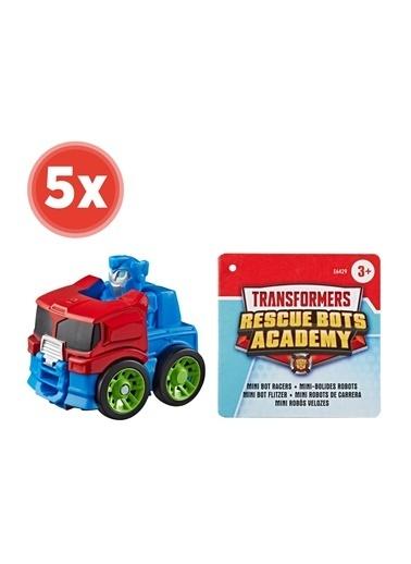 Hasbro Transformers Rescue Bots Mini Robot Yarişçilar X 5 Adet Renkli